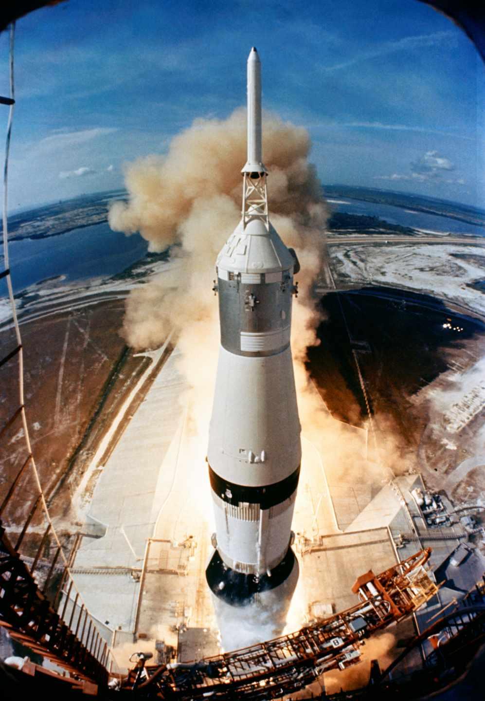 El Apolo 11 despegó el 16 de julio de 1969 rumbo a la luna | NASA