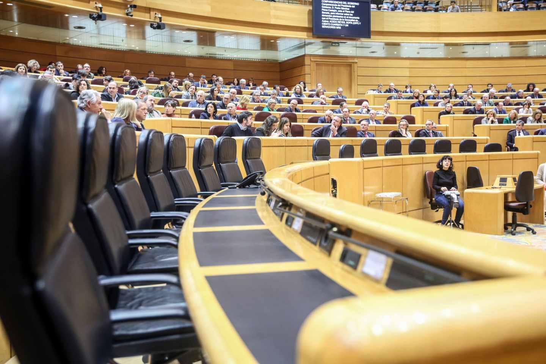 Sesión plenaria en el Senado.