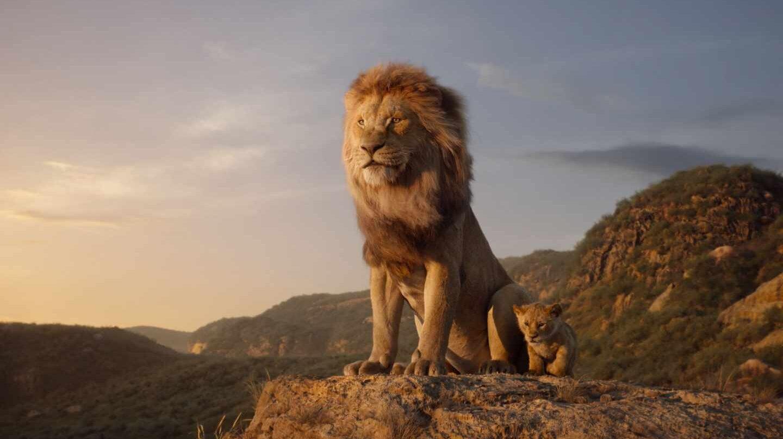 El rey león en CGI: Mufasa y Simba