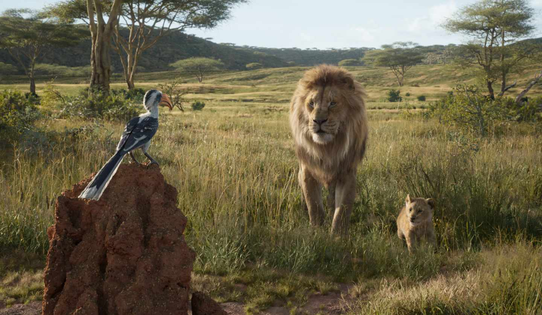 El rey león en CGI