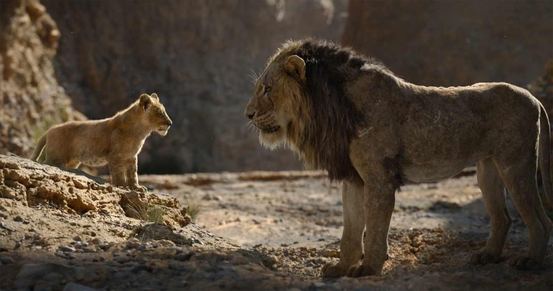 El rey león en CGI: Scar