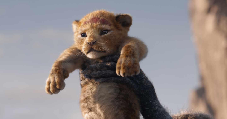 El rey león en CGI: Simba