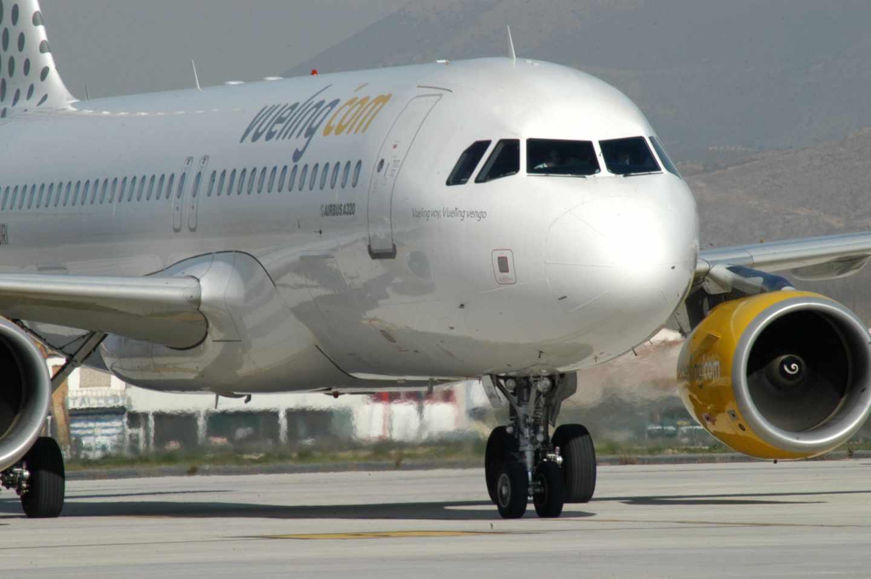 Uno de los aviones de la flota de Vueling.