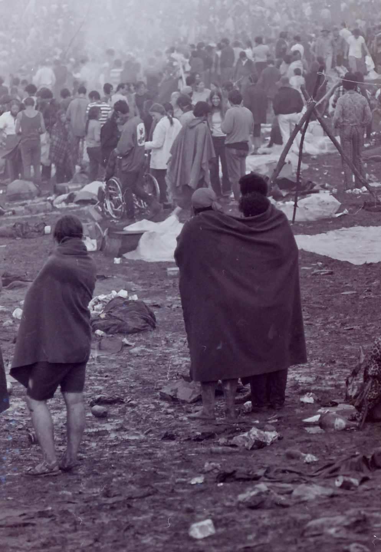 Woodstock el 15 de agosto de 1969.