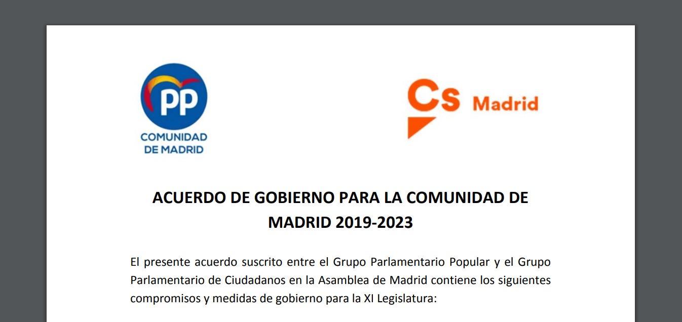 acuerdo autonomos madrid