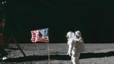 Fotogalería: la llegada a Luna, 50 años en 50 imágenes