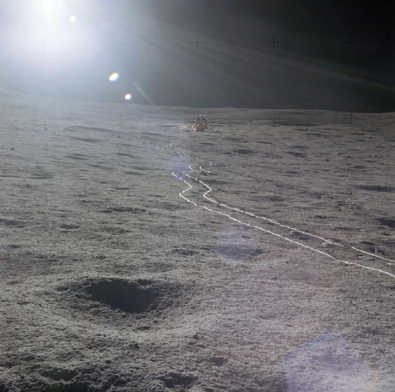 El módulo lunar del Apolo 14 fotografiado en 1971 | NASA