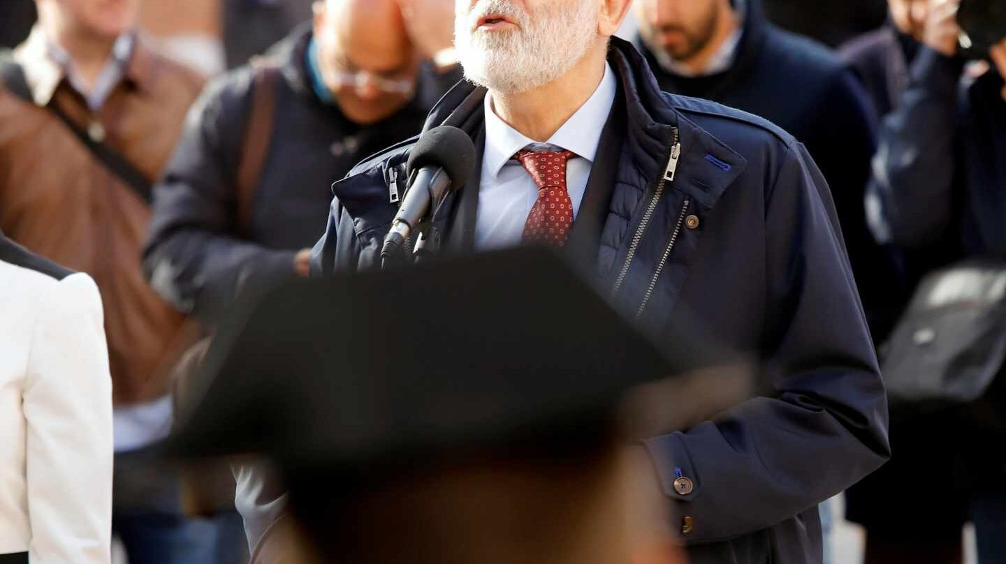 El director general de la Guardia Civil, Félix Azón, en un acto oficial.