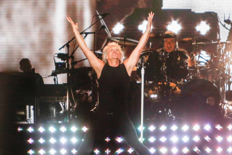 Bon Jovi en Madrid.