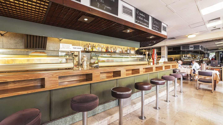 Cafetería Santander. (Mahou)
