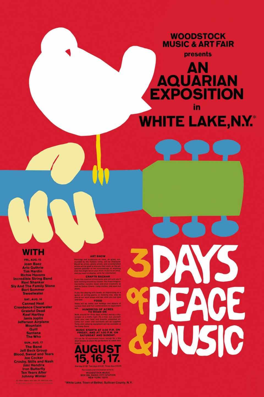 Cartel de Woodstock