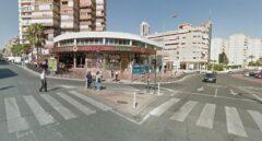 Cruce de las dos avenidas de Benidorm en las que se produjo el robo.
