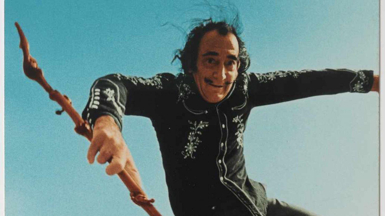 Foto de Salvador Dalí tomada por Robert Whitaker. Fundación Gala Dalí.