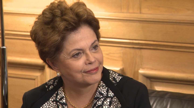 La ex presidenta de Brasil, Dilma Rousseff.