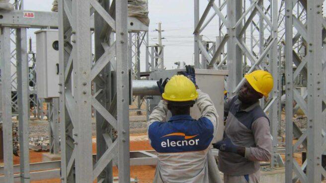 Subestación de Elecnor en Angola.