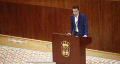 Errejón en la Asamblea de Madrid el pasado 10 de julio.