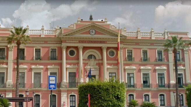 Fachada del Ayuntamiento de Murcia.