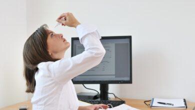 Consejos para combatir el ojo seco que nos provoca la mascarilla