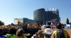 Estrasburgo: 100.000 euros de montaje para una manifestación sin Torra ni Puigdemont