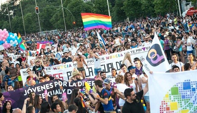 Manifestación Orgullo LGTB