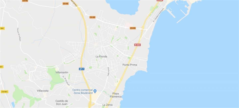 Localización de Punta Prima (Orihuela)