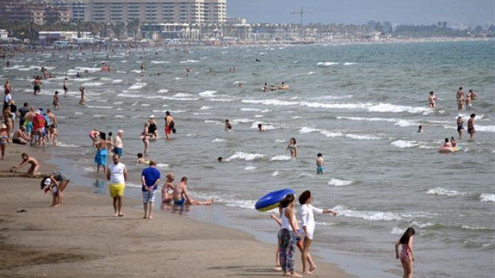 Playa de la Malvarrosa de Valencia