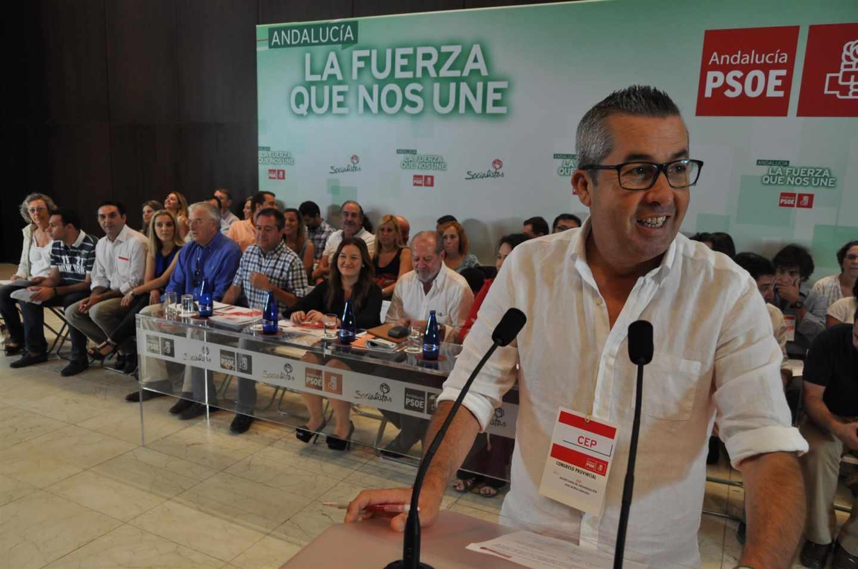 Juan Muñoz, senador del PSOE-A por la comunidad andaluza.