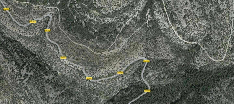 El desprendimiento de una montaña mata a dos trabajadores en Valencia