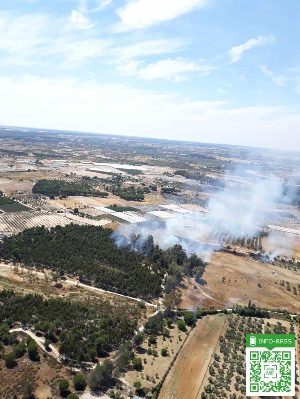 Incendio Huelva
