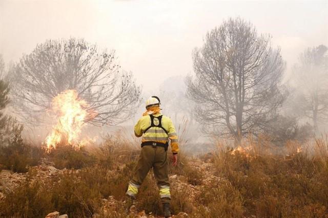 Incendio Alicante