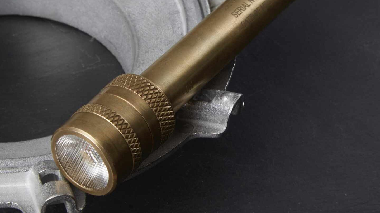 La réplica de la linterna fabricada por Barbolight