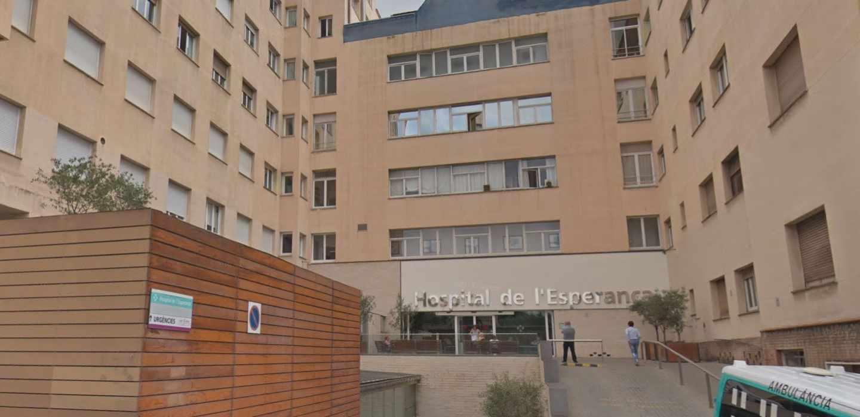 Hospital de la Esperança, en Barcelona.