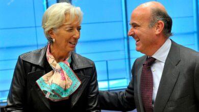 Lagarde y De Guindos: los desafíos del BCE más político de la historia