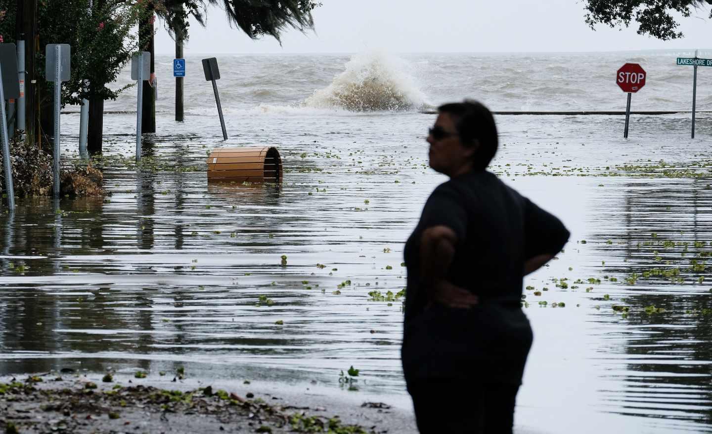 El huracán Barry llega a Louisina.