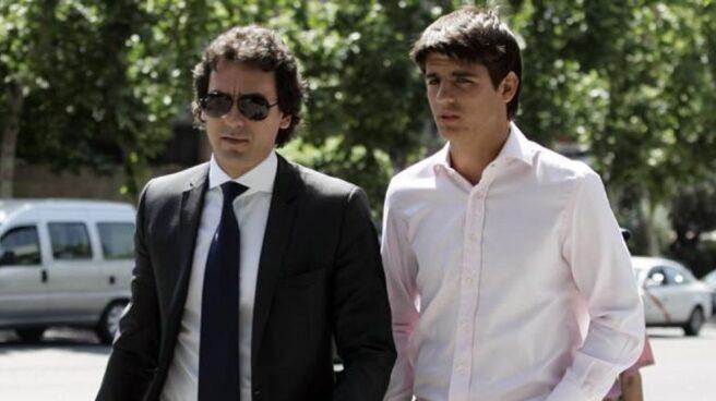 Juanma López y Álvaro Morata.