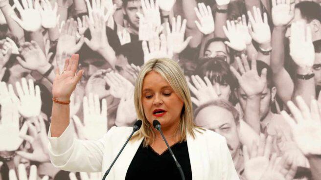 Mari Mar Blanco, en un acto de homenaje a su hermano, asesinado por ETA en 1997.