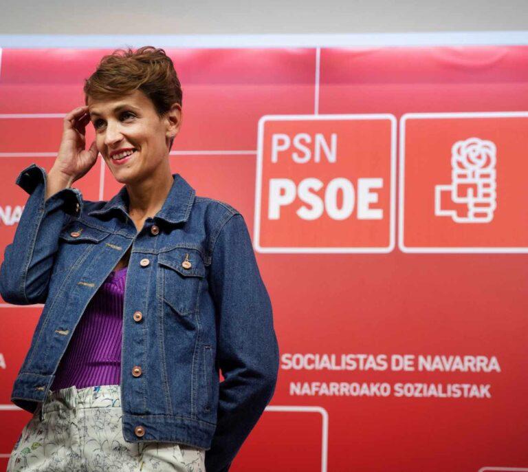 El PSOE rechaza la abstención de Navarra Suma para seguir negociando los presupuestos con Bildu