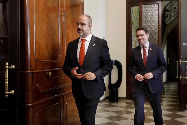 El consejero de Interior de la Generalitat, Miquel Buch.