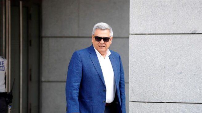 Julio Corrochano, tras declarar como investigado en la Audiencia Nacional.