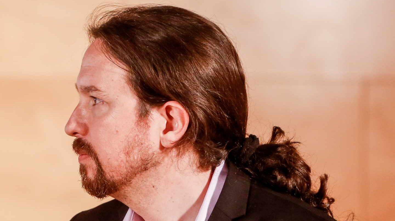 Pablo Iglesias el día de su reunión con Pedro Sánchez la semana pasada.