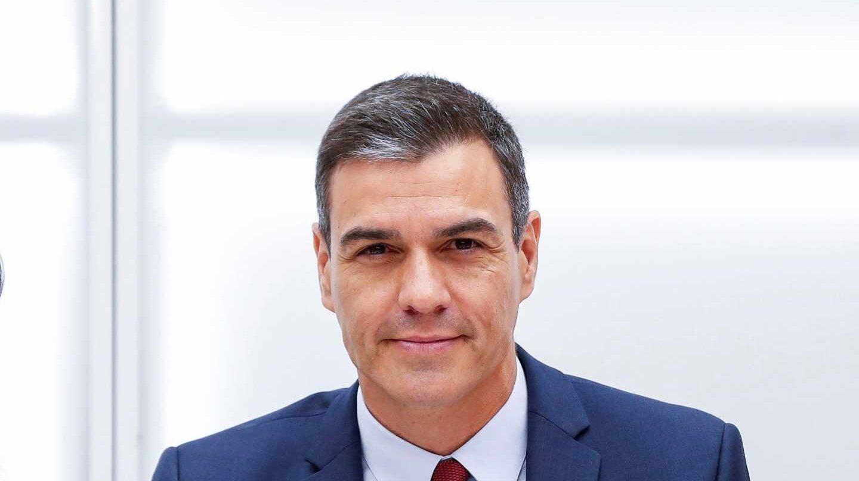 Pedro Sánchez, en la Ejecutiva del PSOE en Ferraz.