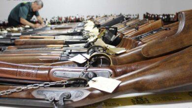 Policía Nacional y local y Guardia Civil han perdido o les han robado 240 armas desde 2008