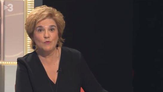 Pilar Rahola, en TV3.