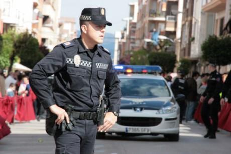 Agente de la Policía Municipal de Yecla.