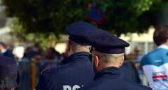 Agentes de la Policía italiana.