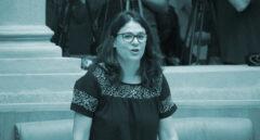 Una saboteadora en el Parlamento riojano