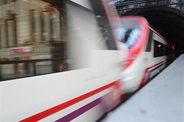 Trenes de Cercanías de Renfe.