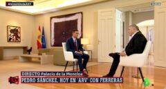Pedro Sánchez, entrevistado por Pablo Iglesias.