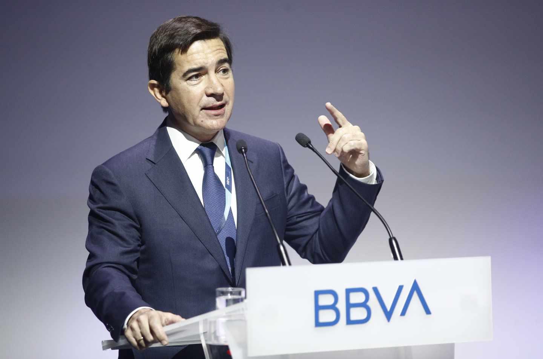 El presidente de BBVA, Carlos Torres.