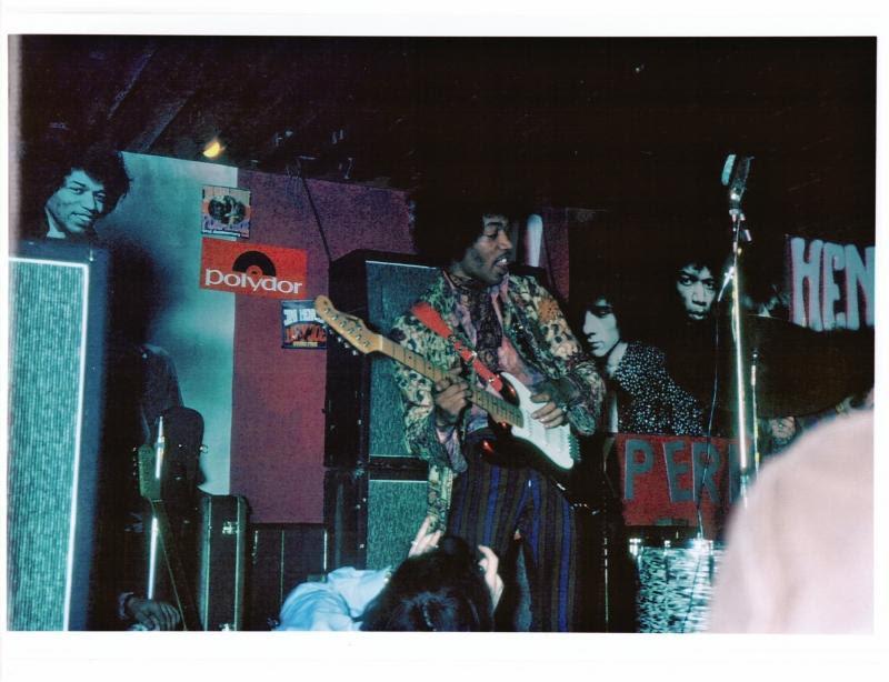 Camisa de Jimi Hendrix.